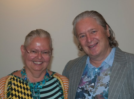 Insa Sparrer und Mathias Varga von Kibed